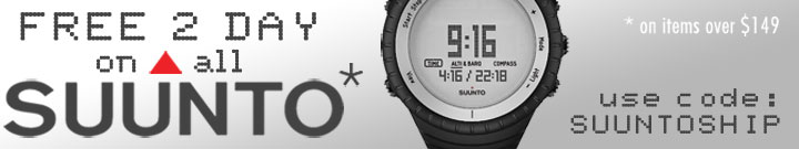 Free 2-Day Shipping on Suunto Watches