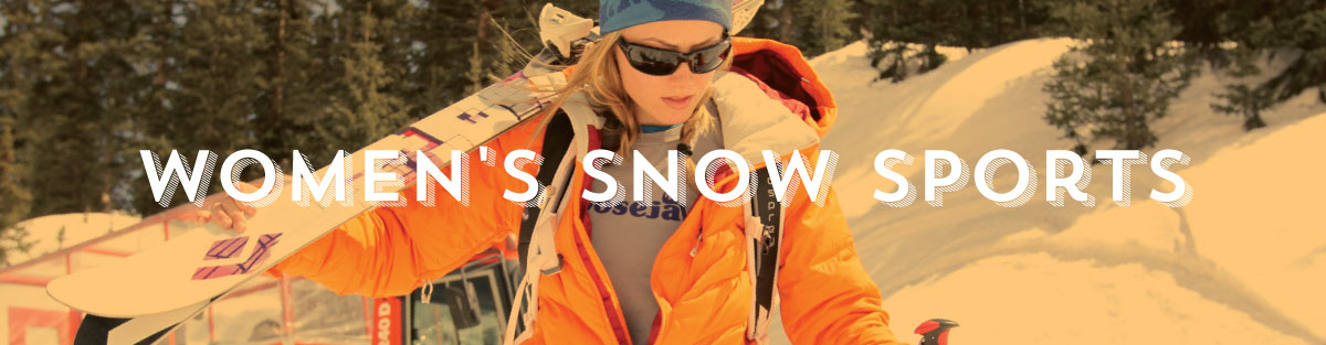 Womens Snow Sports Gear at Moosejaw