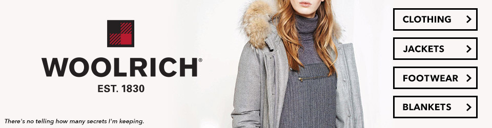 Woolrich Clothing, Jackets, Blankets, and Footwear at Moosejaw