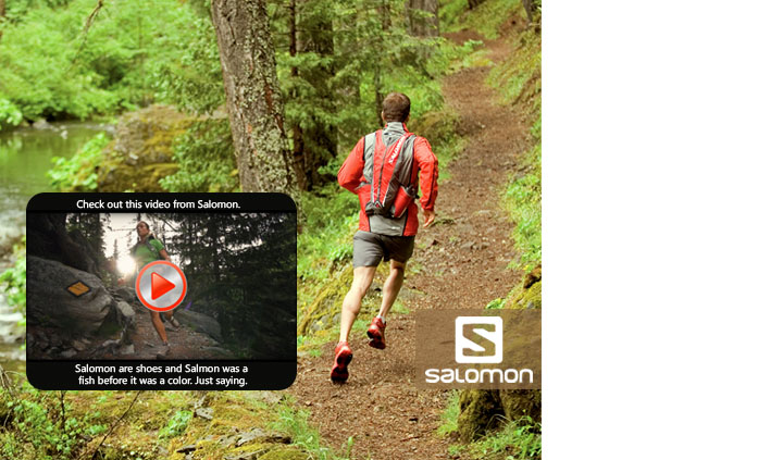 Salomon footwear and clothing
