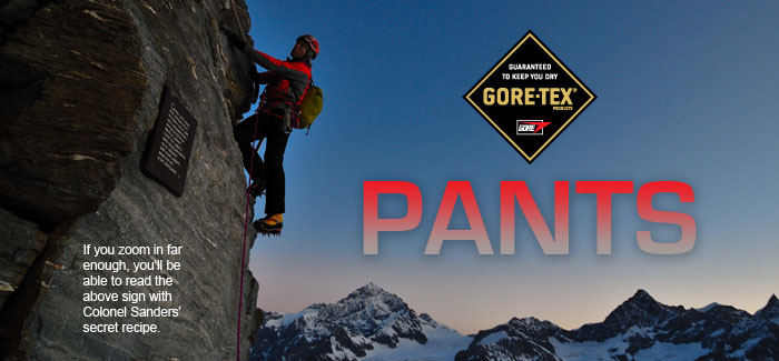 GORE-TEX Pants and Bibs