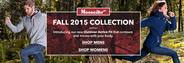 Jackets from great brands at Moosejaw