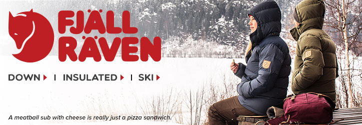 Jackets from great brands like Fjallraven at Moosejaw