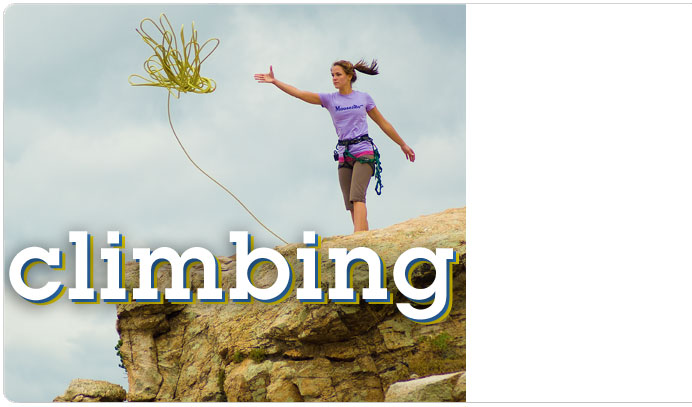 Climbing gear, shoes, and clothing at Moosejaw.com