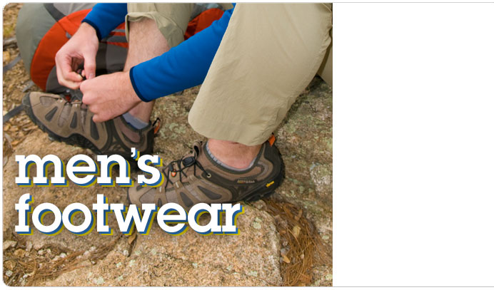 Men's footwear for hiking, climbing and trail running at Moosejaw.com