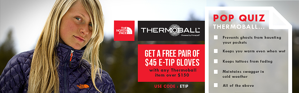 Check Out the New North Face Thermoball Jackets