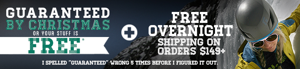 Get Your Stuff by Christmas or it's Totally Free. Plus FREE Overnight Shipping on Orders $149+