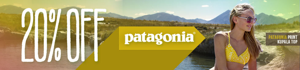 Patagonia is on sale, you guys. All of it.