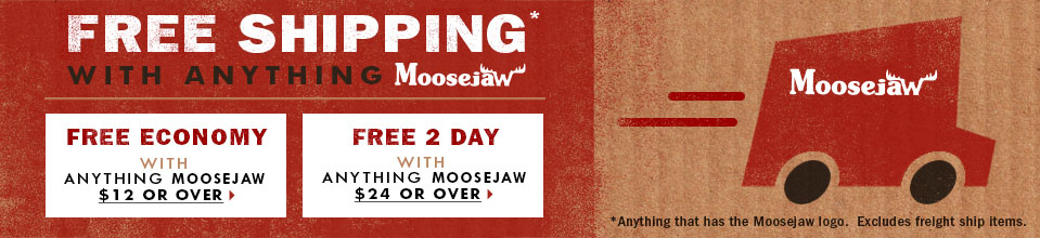 Free Shipping with almost anything Moosejaw