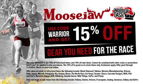 Popular Warrior Dash Coupon Codes